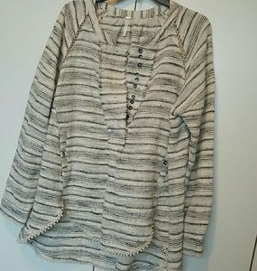 New Free People Poncho Oversized Pull On To S M L
